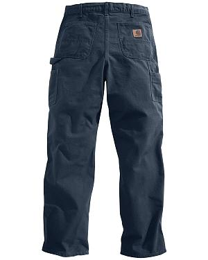 Carhartt Petrol Washed Duck Dungaree Work Pants