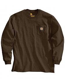 Carhartt Pocket Long Sleeve Work T-Shirt