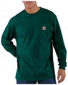 Carhartt Pocket Long Sleeve Work T-Shirt