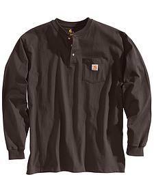Carhartt Long Sleeve Work Henley Shirt