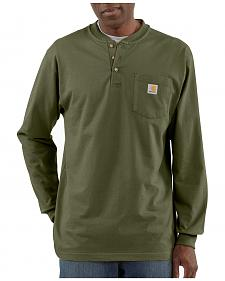 Carhartt Long Sleeve Work Henley Shirt