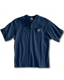 Carhartt Short Sleeve Henley Work Shirt