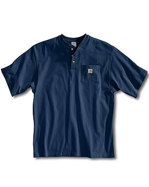 Carhartt Short Sleeve Henley Work Shirt