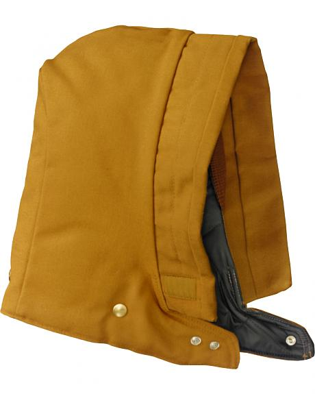 Carhartt Snap-On Arctic Lined Canvas Hood