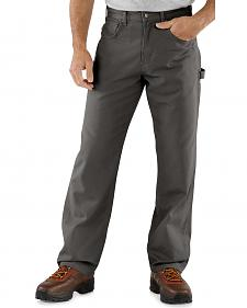 Carhartt Canvas Carpenter Loose Fit Five Pocket Work Pants