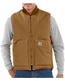 Carhartt Arctic Quilted Canvas Duck Vest