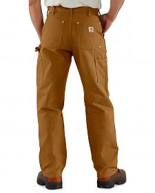 Carhartt Double Front Duck Utility Dungaree Work Pants - Big & Tall