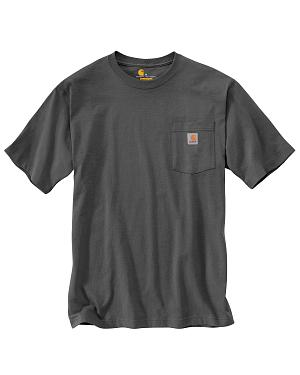 Carhartt Short Sleeve Pocket Work T-Shirt - Big & Tall