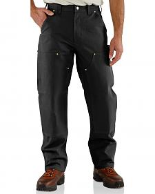Carhartt Double Front Duck Utility Work Pants - Big & Tall