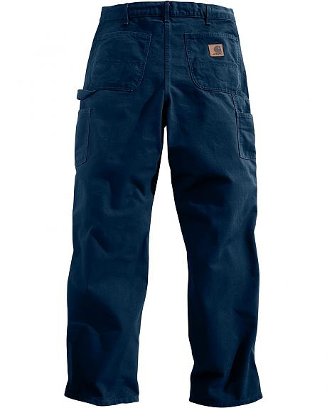 Carhartt Washed Duck Work Dungaree Utility Pants - Big & Tall