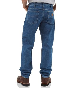 Carhartt Traditional Fit Tapered Leg Work Jeans