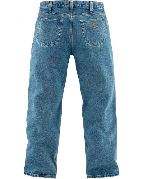 Carhartt Relaxed Fit Straight Leg Five Pocket Work Jeans