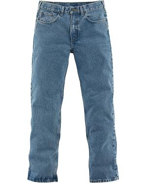 Carhartt Traditional Slim Fit Five Pocket Jeans - Big & Tall