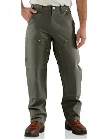 Carhartt Double Front Duck Utility Dungaree Work Pants