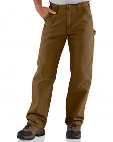 Carhartt Canyon Washed Duck Dungaree Work Pants - Big & Tall