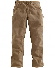 Carhartt Desert Washed Duck Dungaree Work Pants - Big & Tall