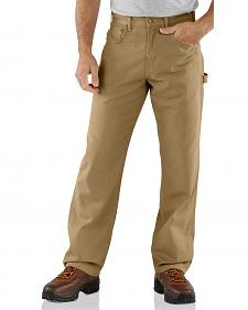Carhartt Loose Fit Canvas Carpenter Five Pocket Work Pants