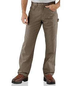 Carhartt Loose Fit Canvas Carpenter Five Pocket Work Pants