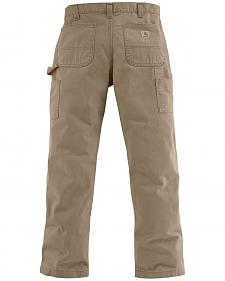 Carhartt Washed Twill Dungaree Relaxed Fit Work Pants