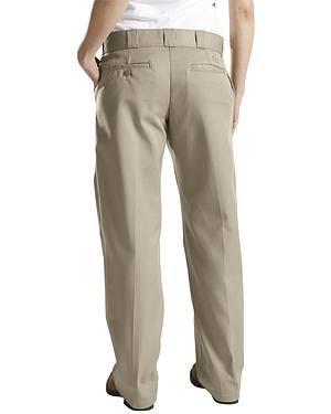 Dickies Womens Classic Straight Leg Twill Pants