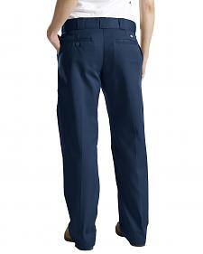 Dickies Women's Classic Straight Leg Twill Pants