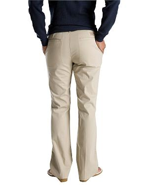 Dickies Womens Flat Front Stretch Twill Pants