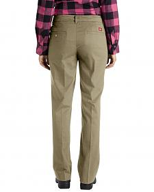 Dickies Women's Relaxed Stretch Twill Pants