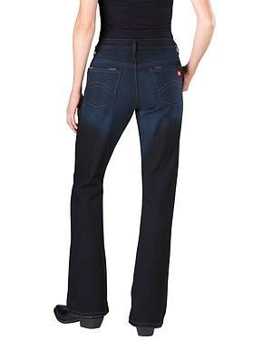 Dickies Womens Slim Fit Bootcut Jeans