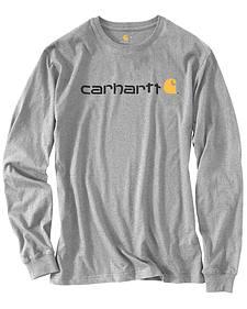 Carhartt Signature Logo Sleeve Knit T-Shirt
