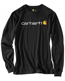 Carhartt Signature Logo Sleeve Knit T-Shirt - Big & Tall
