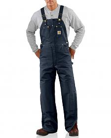 Carhartt Quilt Lined Duck Bib Overalls - Big & Tall