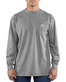 Carhartt Flame-Resistant Long-Sleeve Work Shirt - Big & Tall