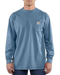 Carhartt Flame-Resistant Long-Sleeve Work Shirt - Big & Tall at Sheplers