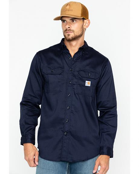 Carhartt Flame Resistant Dry Twill Work Shirt - Big & Tall