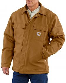 Carhartt Flame Resistant Quilt-Lined Duck Traditional Coat - Big & Tall