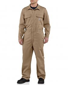 Carhartt Flame Resistant Classic Twill Coveralls - Big & Tall