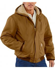 Carhartt Flame Resistant Quilt-Lined Duck Active Jacket - Big & Tall