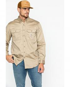Carhartt Flame Resistant Work-Dry® Twill Long Sleeve Shirt