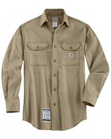 Carhartt Flame Resistant Work-Dry� Twill Long Sleeve Shirt - Big & Tall
