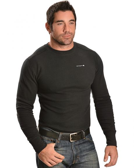 Carhartt Moisture-Wicking Thermal Under Shirt - Big & Tall