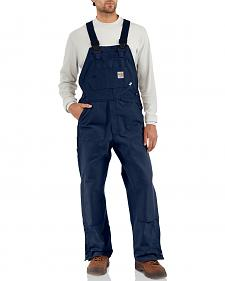 Carhartt Flame Resistant Bib Work Overall - Big & Tall