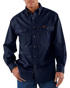 Carhartt Sandstone Twill Work Shirt