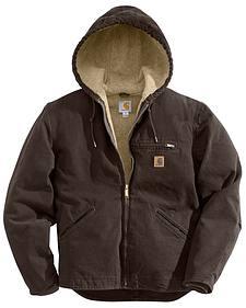 Carhartt Sierra Sherpa Lined Work Jacket - Big & Tall