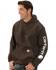 Carhartt Logo Hooded Sweatshirt