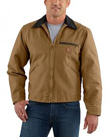 Carhartt Blanket Lined Sandstone Detroit Work Jacket - Big & Tall