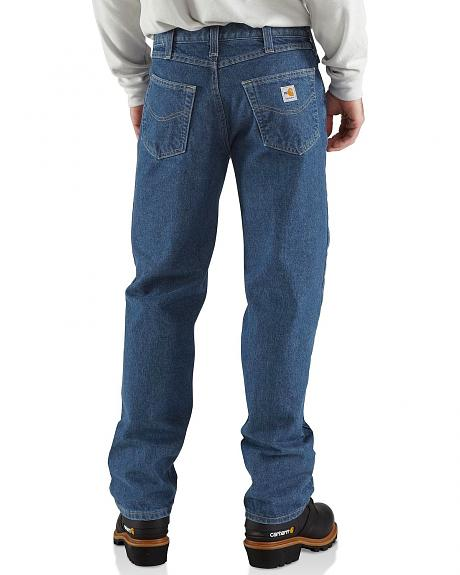 Carhartt Flame Resistant Utility Denim Relaxed Fit Jeans - Big & Tall