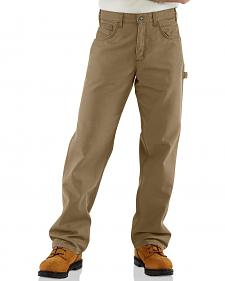 Carhartt Flame Resistant Canvas Work Pants - Big & Tall
