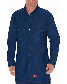Dickies Flame Resistant Denim Work Shirt