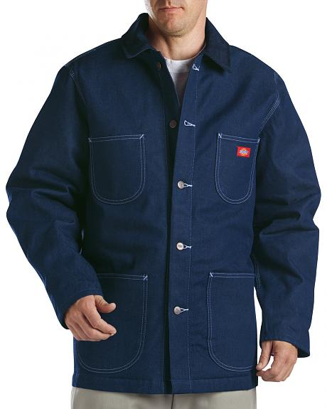 Dickies Blanket Lined Denim Chore Coat