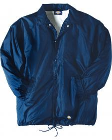 Dickies Snap Front Nylon Jacket - Big & Tall